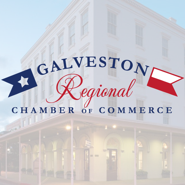 galveston chamber square logo